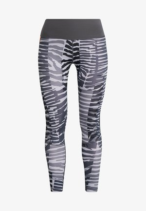 SPORT HIGH WAIST 7/8 LEGGINGS - Tights - grey