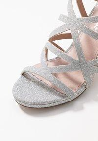 Mariamare - Højhælede sandaletter / Højhælede sandaler - silver - 2