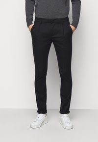 Dondup - PANTALONE GAUBERT PINCES - Pantalon classique - black denim - 0