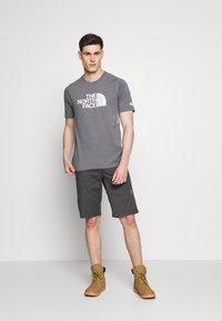 The North Face - MENS WICKER GRAPHIC CREW - Print T-shirt - medium grey heather/white - 1