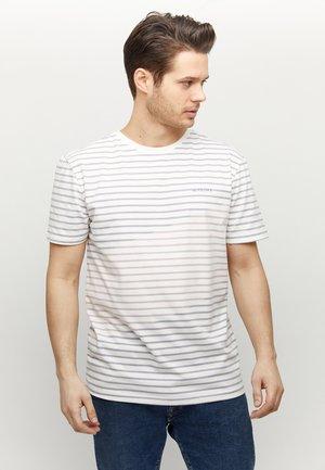 CORRIS - T-shirt med print - offwhite