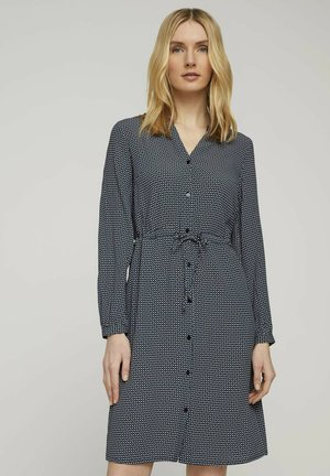 JUMPSUITS - Day dress - navy geometrical design