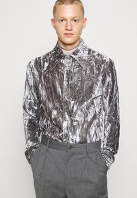 Martin Asbjørn - JOSHUA SHIRT - Shirt - silver grey - 0