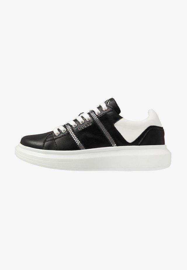 SALERNO - Sneakers basse - black