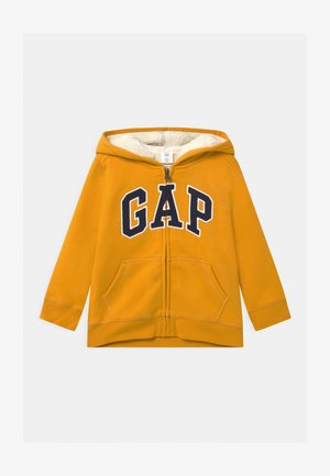 TODDLER BOY COZY LOGO - Zip-up hoodie - rugby gold