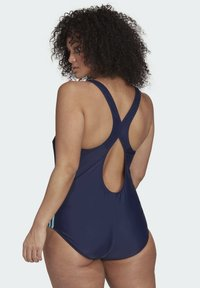 adidas Performance - FIT 3S SWIM SPORTS MUST HAVES PRIMEBLUE SWIMSUIT FITTED - Badpak - blue - 1
