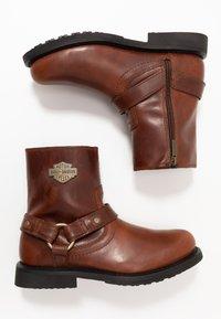 Harley Davidson - SCOUT - Cowboy/biker ankle boot - rust - 1