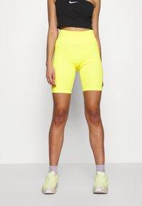 Nike Sportswear - W NSW AIR BIKE - Shorts - opti yellow - 0