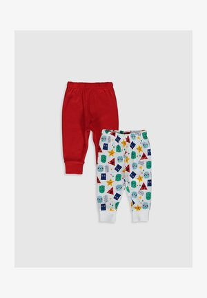 2 PACK - Pyjama bottoms - red