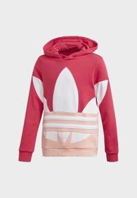 adidas Originals - Large Trefoil - Hoodie - Pink - 2