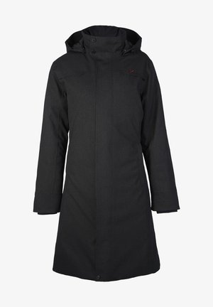 DAUNENMANTEL TANA - Down coat - black