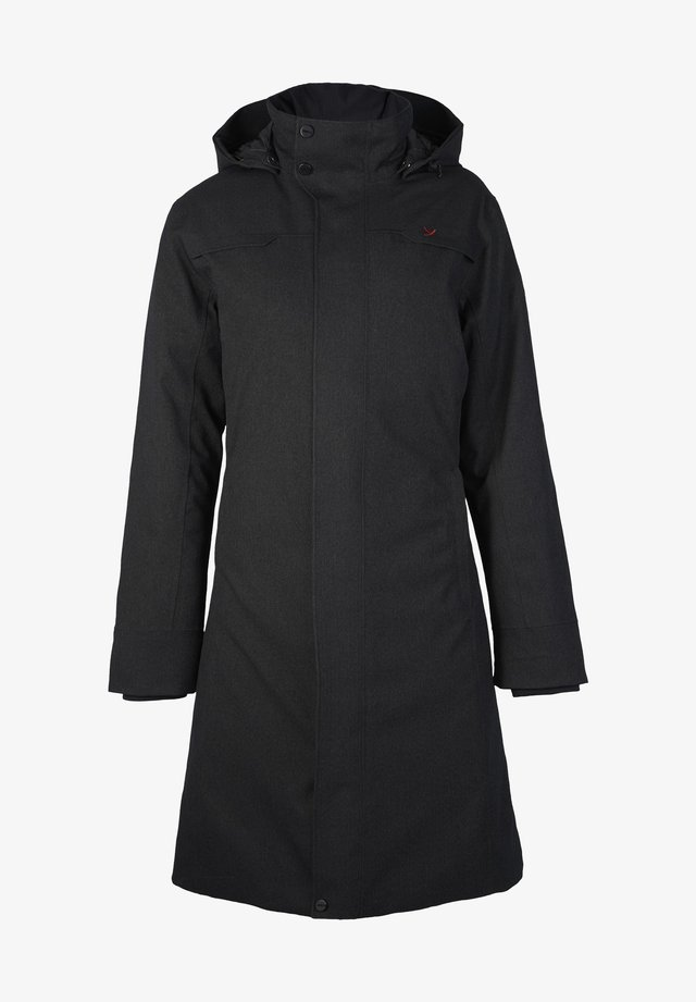 DAUNENMANTEL TANA - Down coat - black