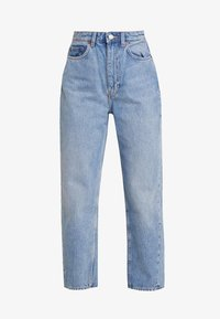 Weekday - MEG HIGH MOM WASHED BACK - Jeans straight leg - air blue - 4