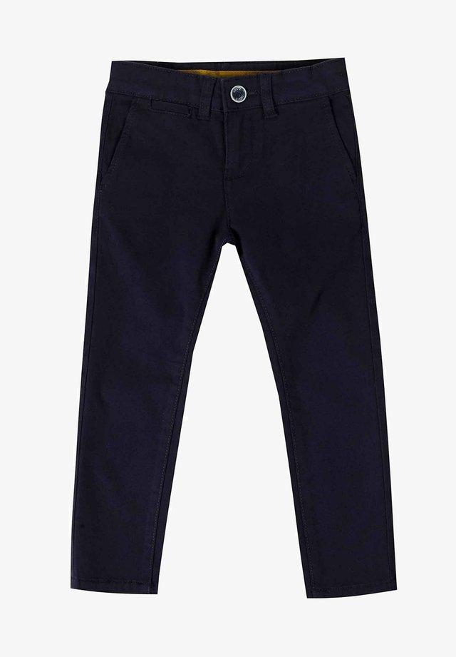 Kalhoty - azul marino