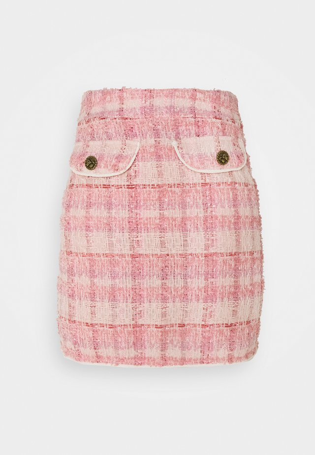 PROM MINI SKIRT - Mini skirt - pink
