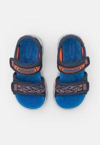 Skechers - THERMO-SPLASH - Sandalen - navy/orange/royal - 3