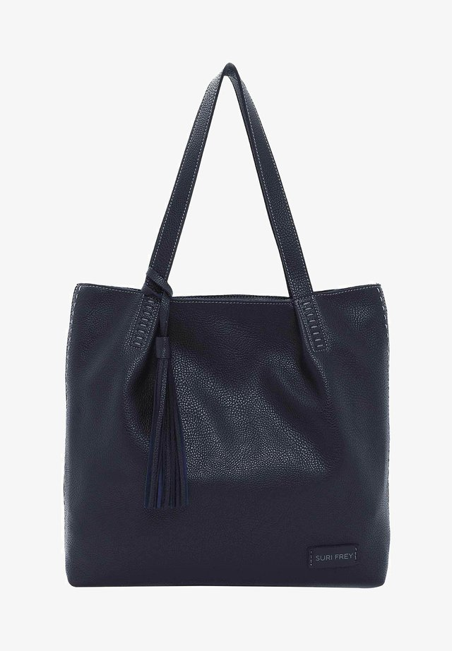 STACY - Shopping bag - blue