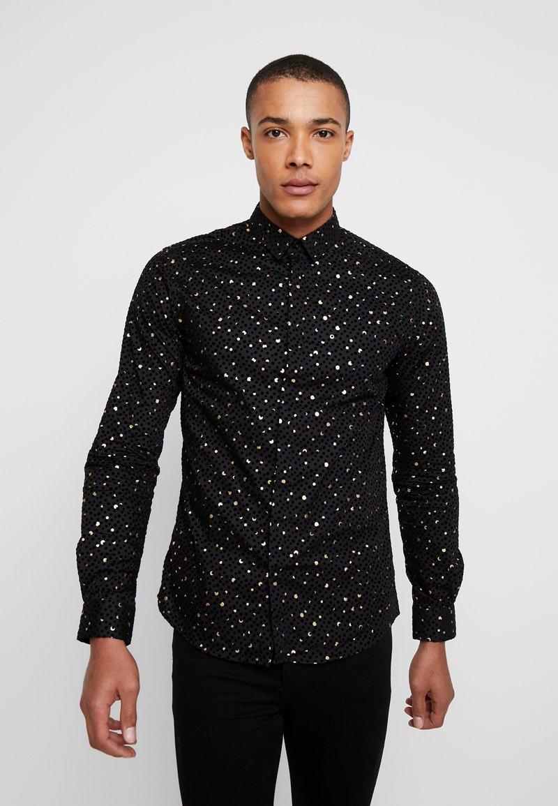 Twisted Tailor - FARROW - Camicia - black