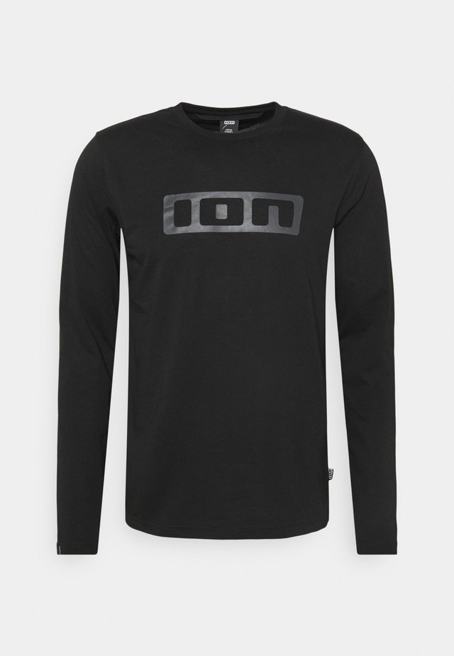 TEE SEEK - Langærmede T-shirts - black