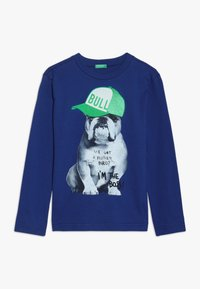 Benetton - Langærmede T-shirts - blue - 0