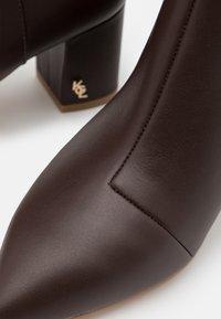 Kurt Geiger London - BURLINGTON BOOT - Classic ankle boots - brown - 6