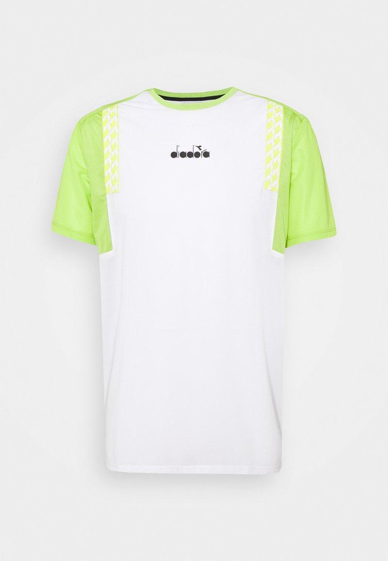 Diadora - CLAY - Print T-shirt - optical white