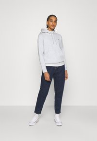 Tommy Jeans - REGULAR HOODIE - Sweat à capuche - silver grey heather - 1