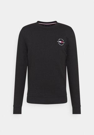 CIRCLE CHEST CORP CREWNECK - Sweatshirt - black