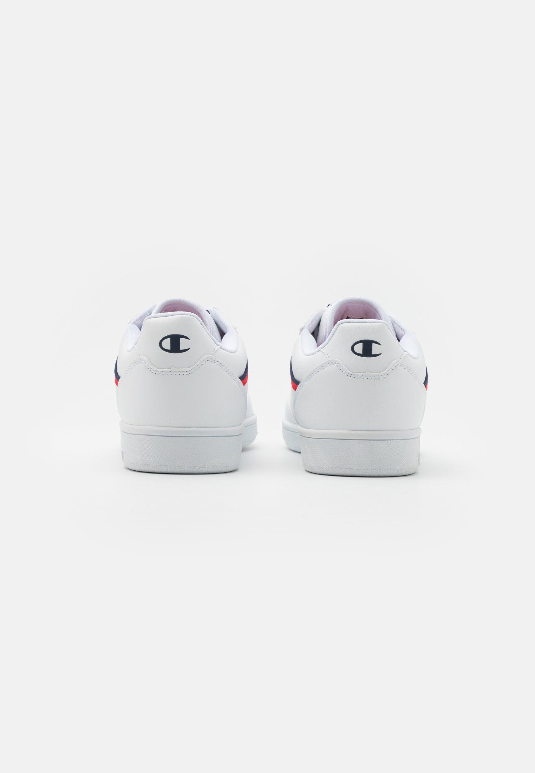 Champion Low Cut Shoe New Court - Sportschoenen White/red