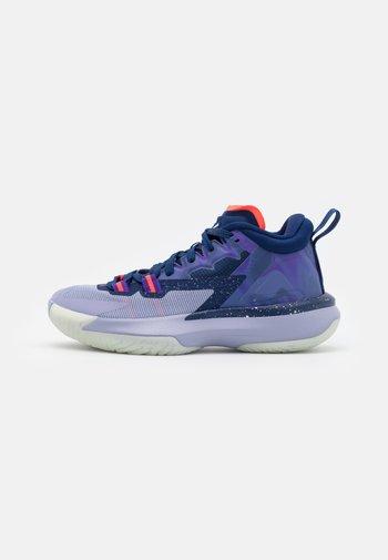 ZION 1 UNISEX - Basketbalové boty - blue void/bright crimson/fierce purple/indigo haze