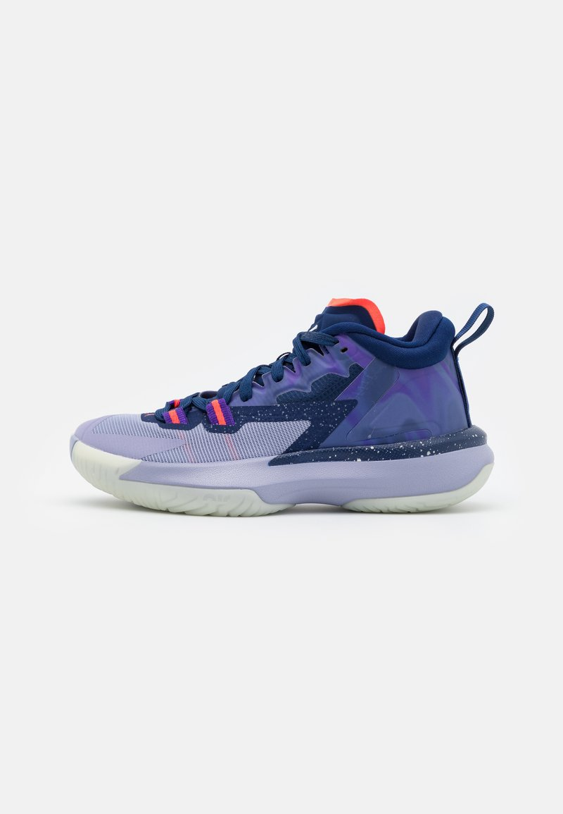 Jordan - ZION 1 UNISEX - Zapatillas de baloncesto - blue void/bright crimson/fierce purple/indigo haze