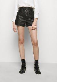 maje - IRINE - Shorts - noir - 0