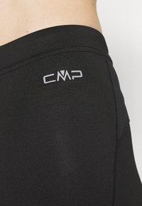 CMP - WOMAN PANT - 3/4 sportsbukser - black asphalt - 6