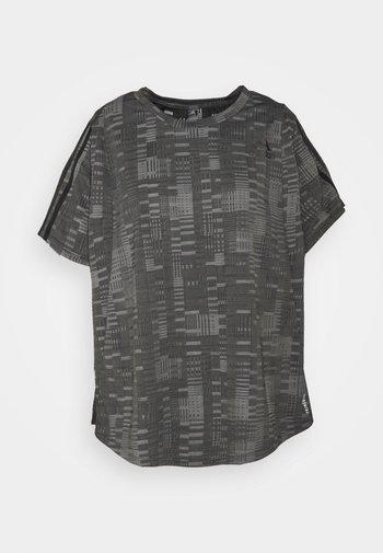 TEE - Print T-shirt - black/white