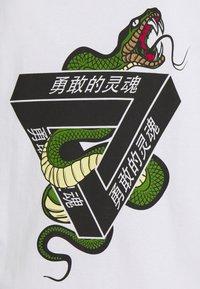 Brave Soul - SCAL - Print T-shirt - white - 3