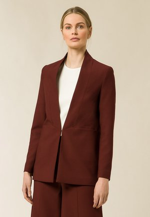Short coat - chestnut