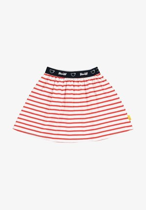 Mini skirt - true red