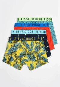 WE Fashion - 4 PACK - Pants - light grey, orange, light blue - 1