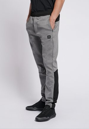 HMLTROPPER  - Trainingsbroek - grey melange