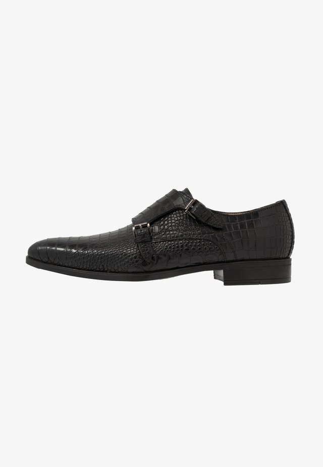 Loafers - mono nero