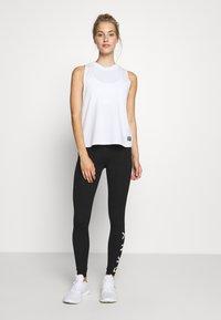 DKNY - LEGGING LOGO - Leggings - black - 1