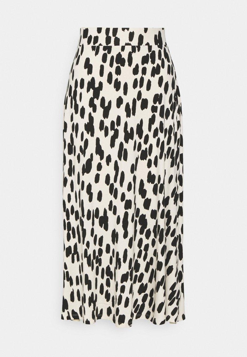 Marks & Spencer London - SKATER - A-line skirt - black