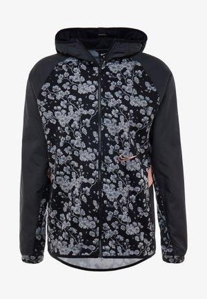 THERMA CITY EXPLORATION SERIES ATLANTA HD FULL ZIP - Fleece jacket - black/pink quartz
