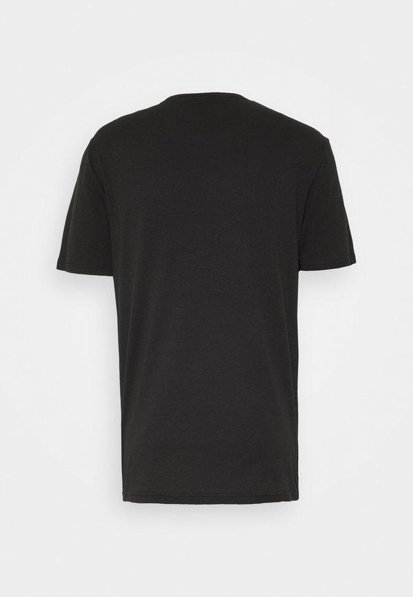 YOURTURN UNISEX - T-shirt z nadrukiem - black/czarny Odzież Męska SMLN