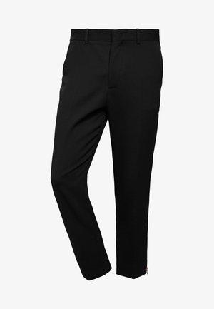 DOHERTY TROUSERS - Pantaloni - darkest black