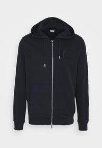 HOODY JACKET - veste en sweat zippée - navy