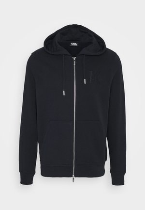 HOODY JACKET - Sweatjacke - navy