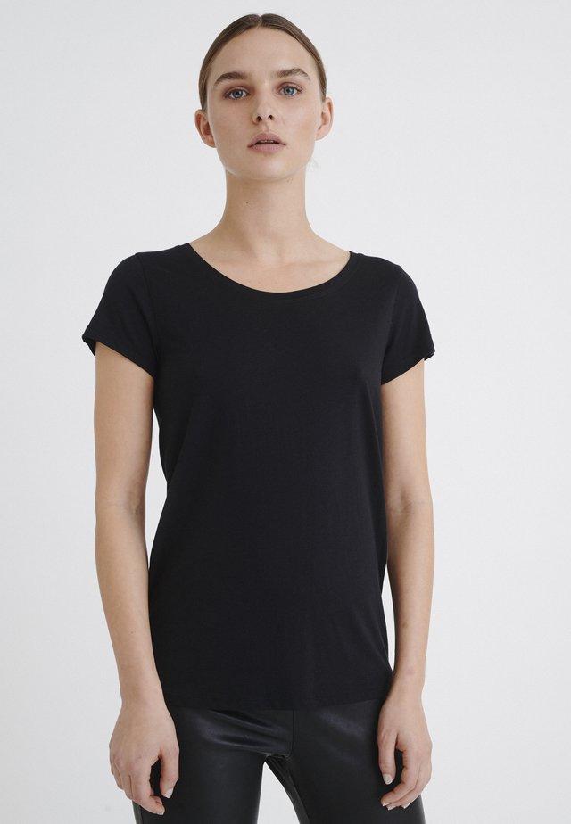 RENA - T-shirt basic - black