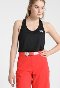 The North Face - WOMENS FLEX TANK - Sports shirt - black - 0