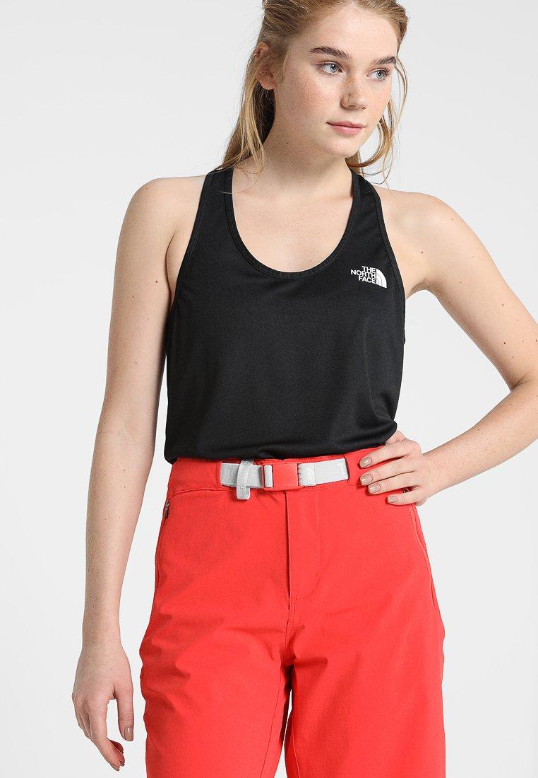 The North Face - WOMENS FLEX TANK - Sports shirt - black